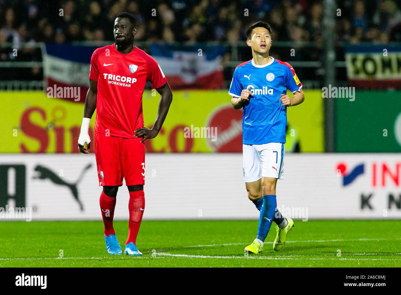 Kiel Germany 25th Oct 2019 Soccer 2nd Bundesliga Holstein Kiel Vfl Bochum 11th Matchday In Holstein