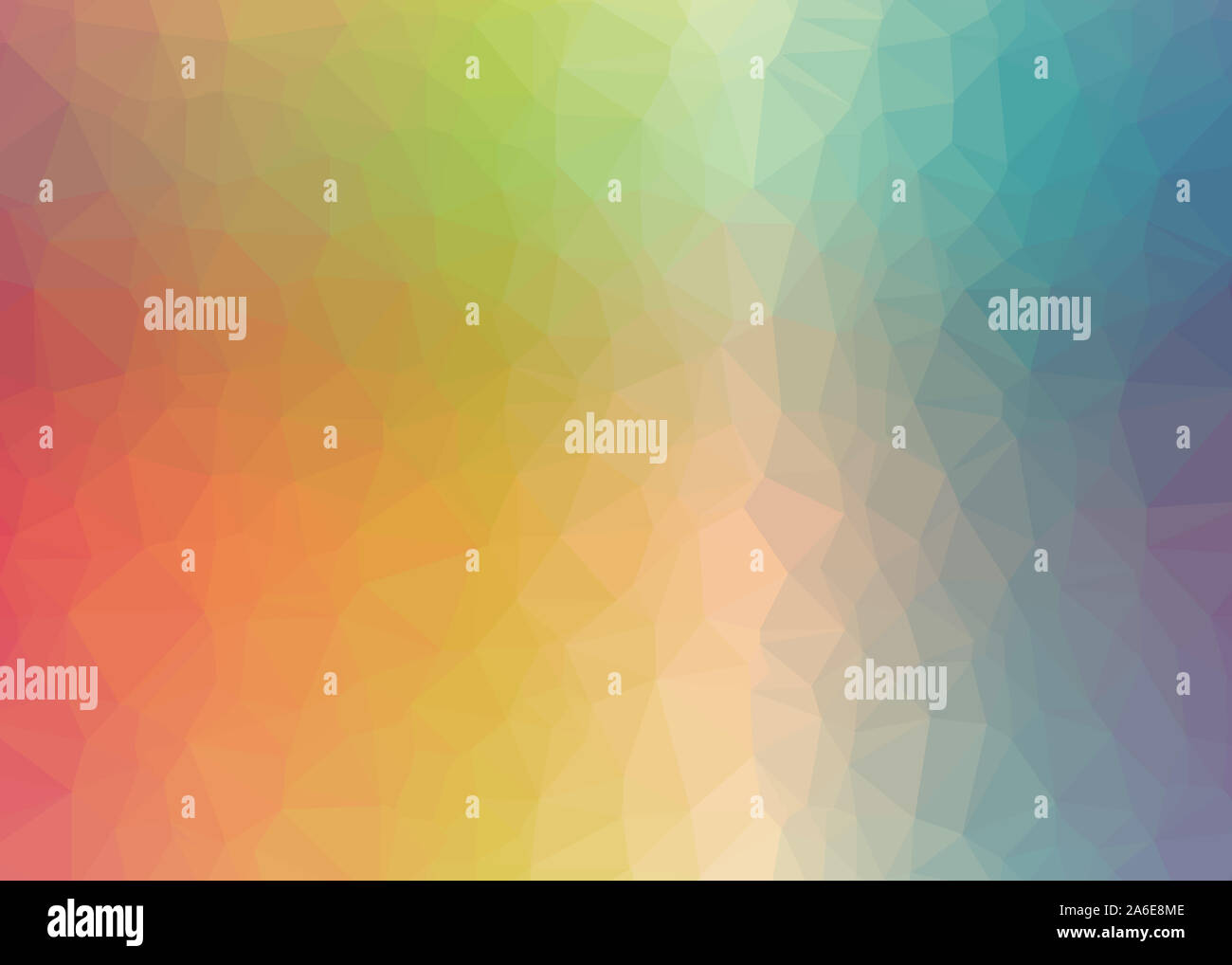 theme abstract background triangles trianglify colorful beautiful simple pattern design wallpaper illustration texture polygon low-poly graphic edges Stock Photo