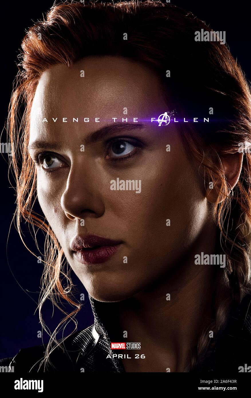 Character Advance Poster For Avengers Endgame 2019