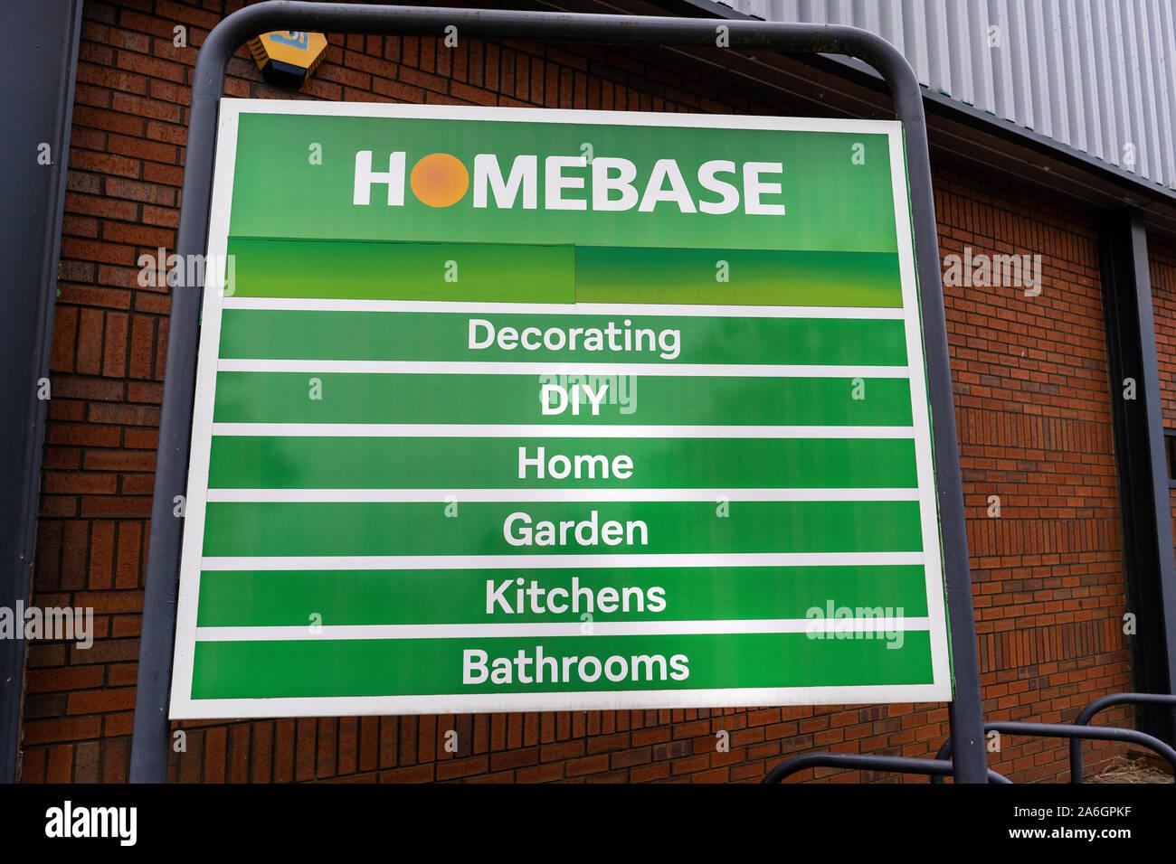 Homebase Diy Home And Garden Shop Stock Photos Homebase