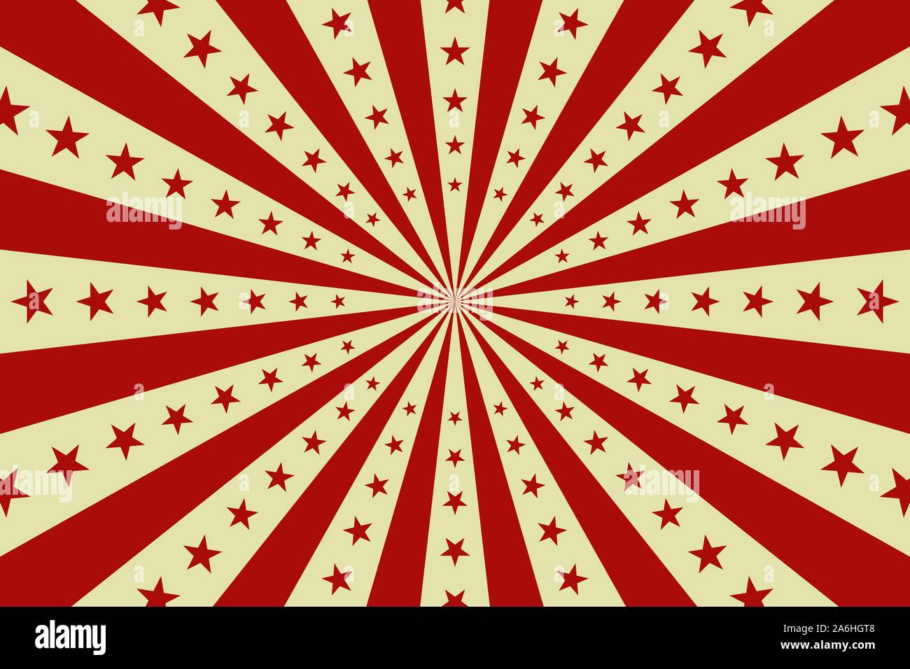 Circus Vintage Background Vector Red Circus Retro Poster