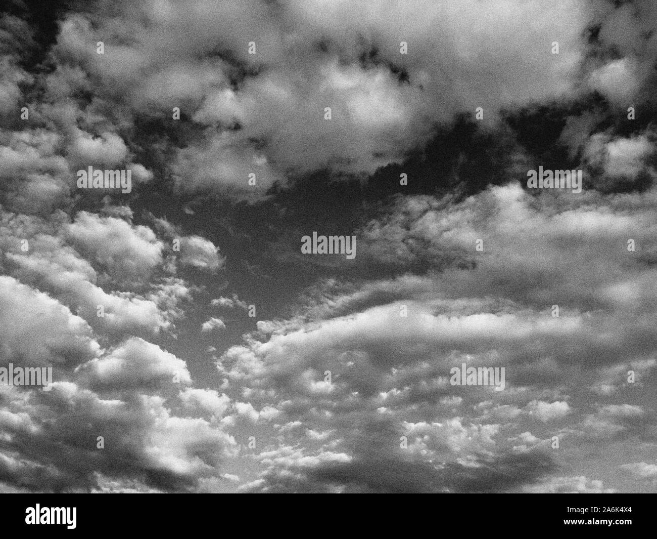 Italy, Casorezzo, clouds Stock Photo
