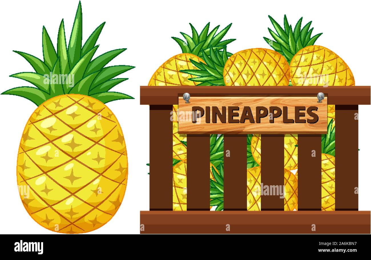 Pineapple Farm Art Stock Photos Pineapple Farm Art Stock