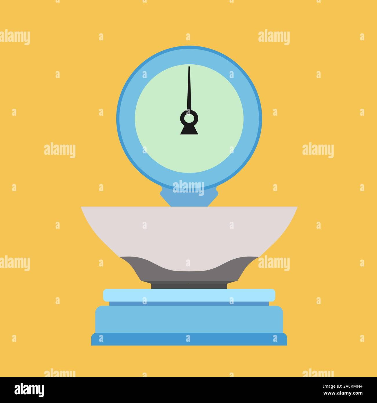 Libra sign vector icon illustration. Scale isolated balance equal. Weight measurement analysis appliance mass. Stock Vector