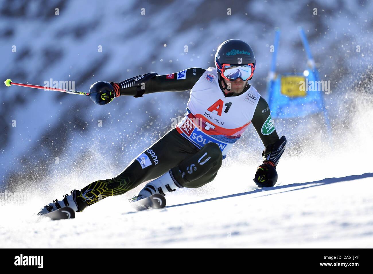 Tommy Ford Usa Action Men S Giant Slalom Men S Giant Slalom Alpine Skiing World Cup In Soelden On The Rettenbachferner Rettenbach Glacier Season 2019 2020 19 20 On 27 10 2019 Usage Worldwide Stock Photo Alamy
