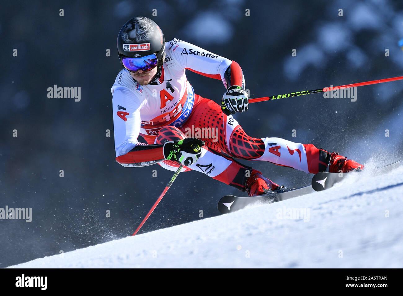 Manuel Feller Aut Action Men S Giant Slalom Men S Giant Slalom Alpine Skiing World Cup In Soelden On The Rettenbachferner Rettenbach Glacier Season 2019 2020 19 20 On 27 10 2019 Usage Worldwide Stock Photo Alamy