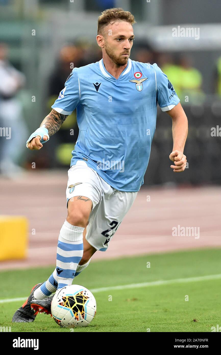 Manuel Lazzari of SS Lazio Roma 01-09-2019 Stadio Olimpico Football Serie A  2019/2020 SS Lazio - AS Roma Photo Andrea Staccioli / Insidefoto Stock  Photo - Alamy