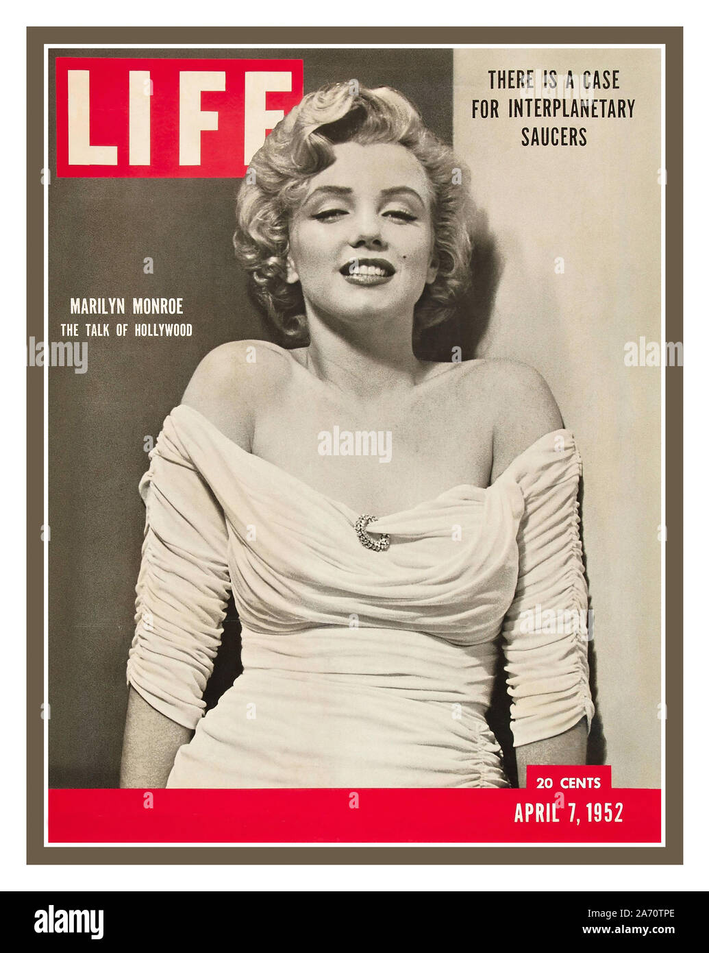 Vintage 1952 LIFE MAGAZINE Marilyn Monroe Front Cover Life ...