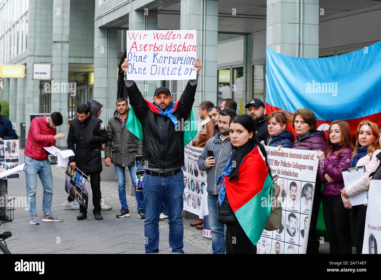 Protest Against Human Rights Violations In The Republic Of Azerbaijan Stock Photo Alamy