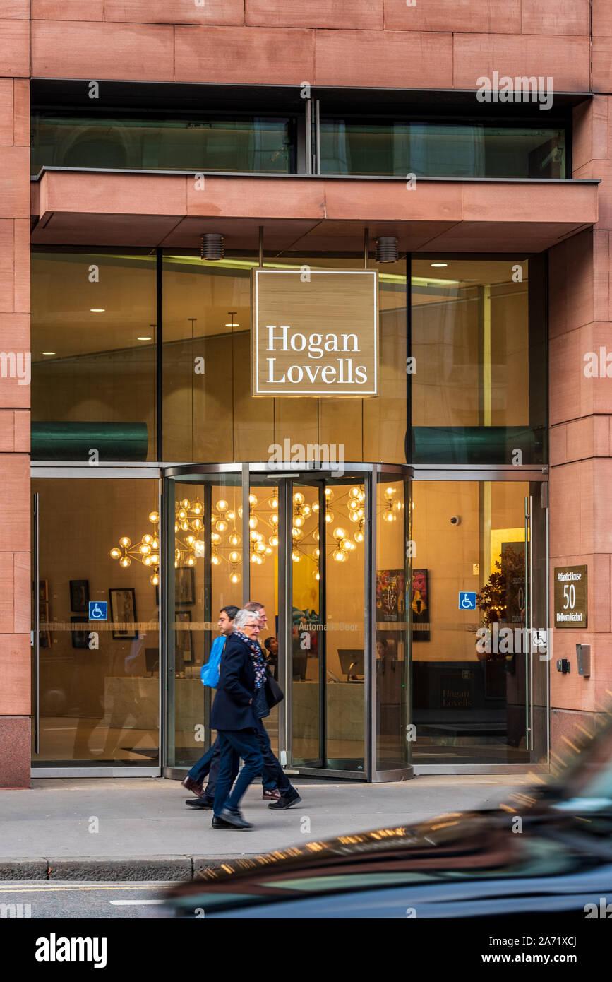Hogan Lovells London offices at Atlantic House, Holborn Viaduct ...