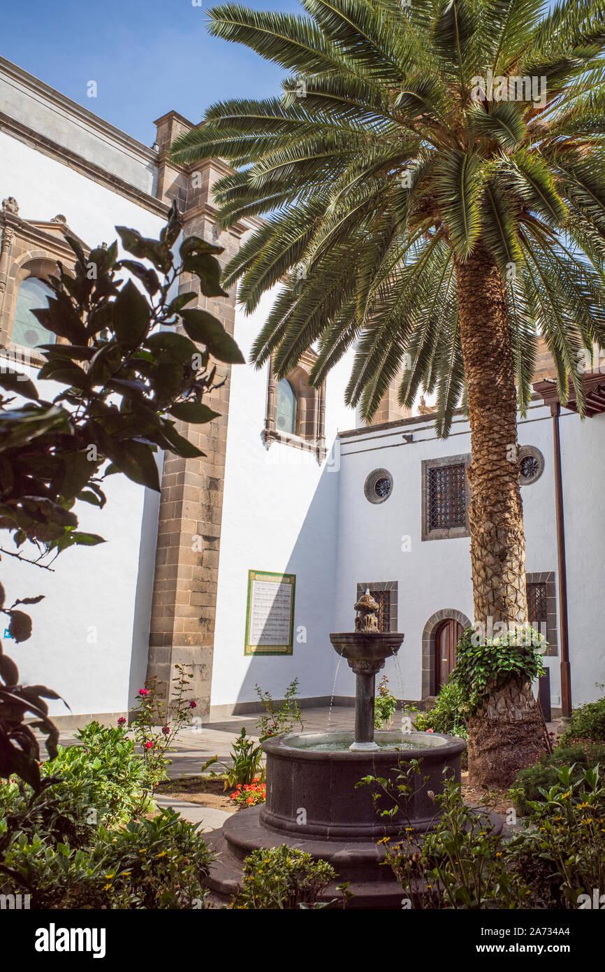 Santa Ana Cathedral Las Palmas Gran Canaria Spain Stock Photo
