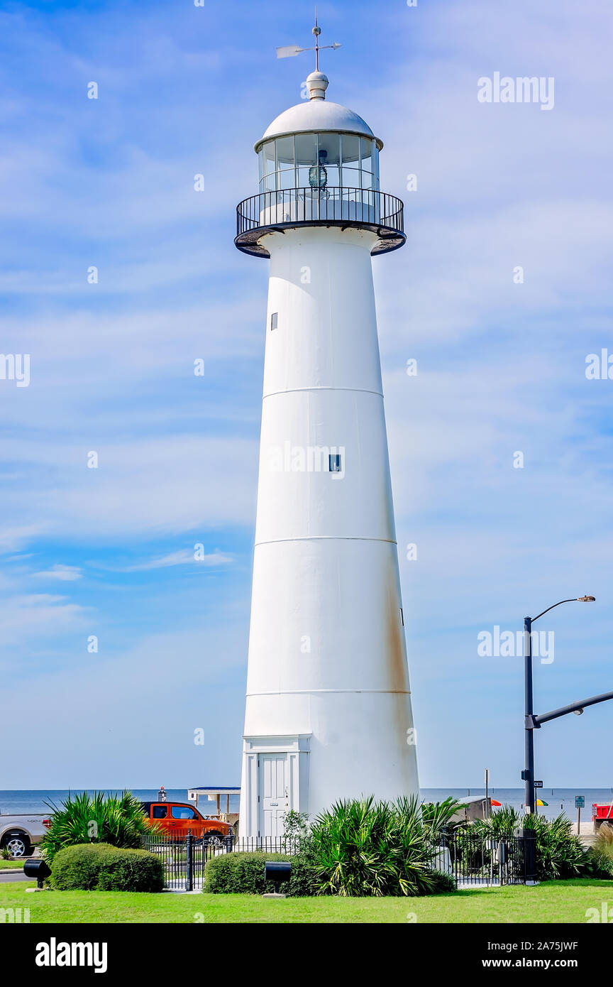 Biloxi Lighthouse High Resolution Stock Photography And Images Alamy