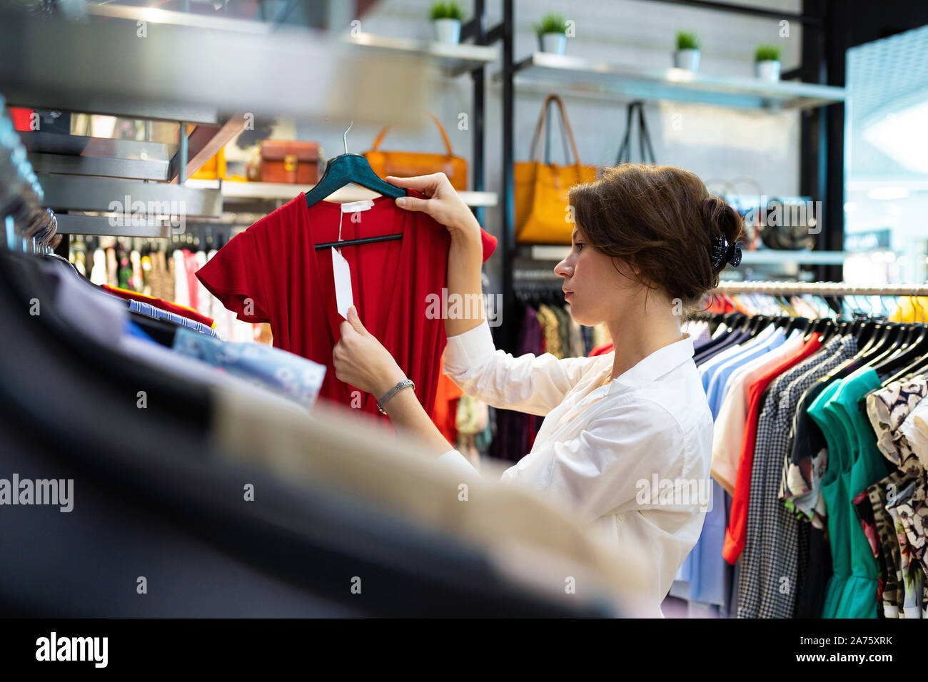 Dress With Price Tag High Resolution Stock Photography And Images Alamy