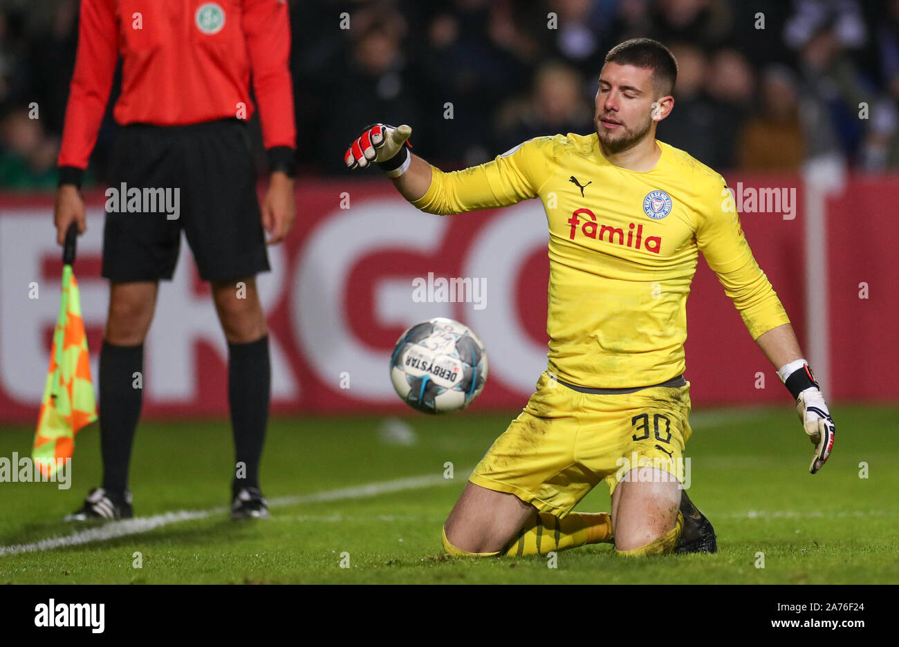 Verl Germany 30th Oct 2019 Soccer Dfb Cup 2nd Round Sc Verl Holstein Kiel In The