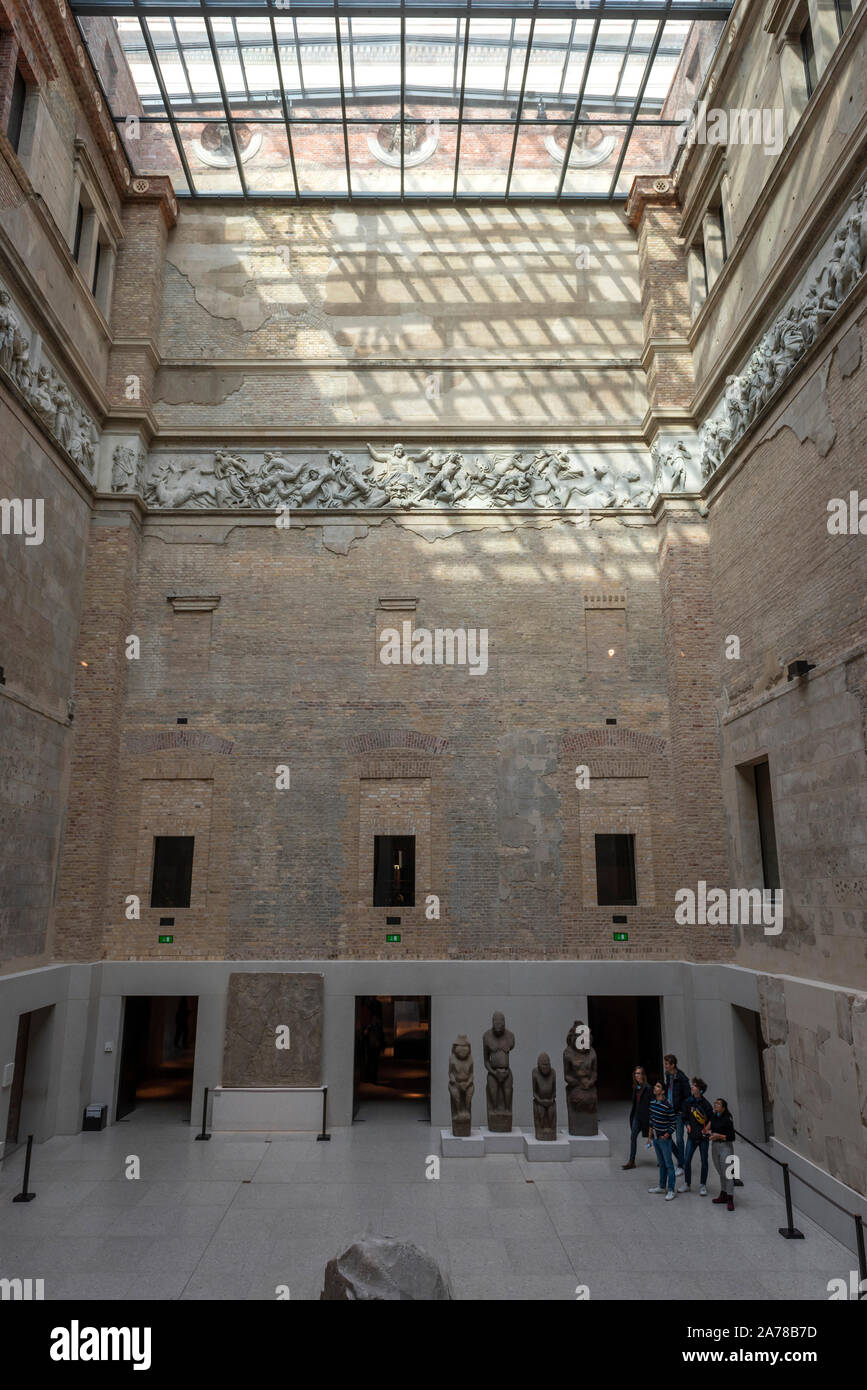 The Neues Museum on Museuminsul, Berlin, Germany Stock Photo