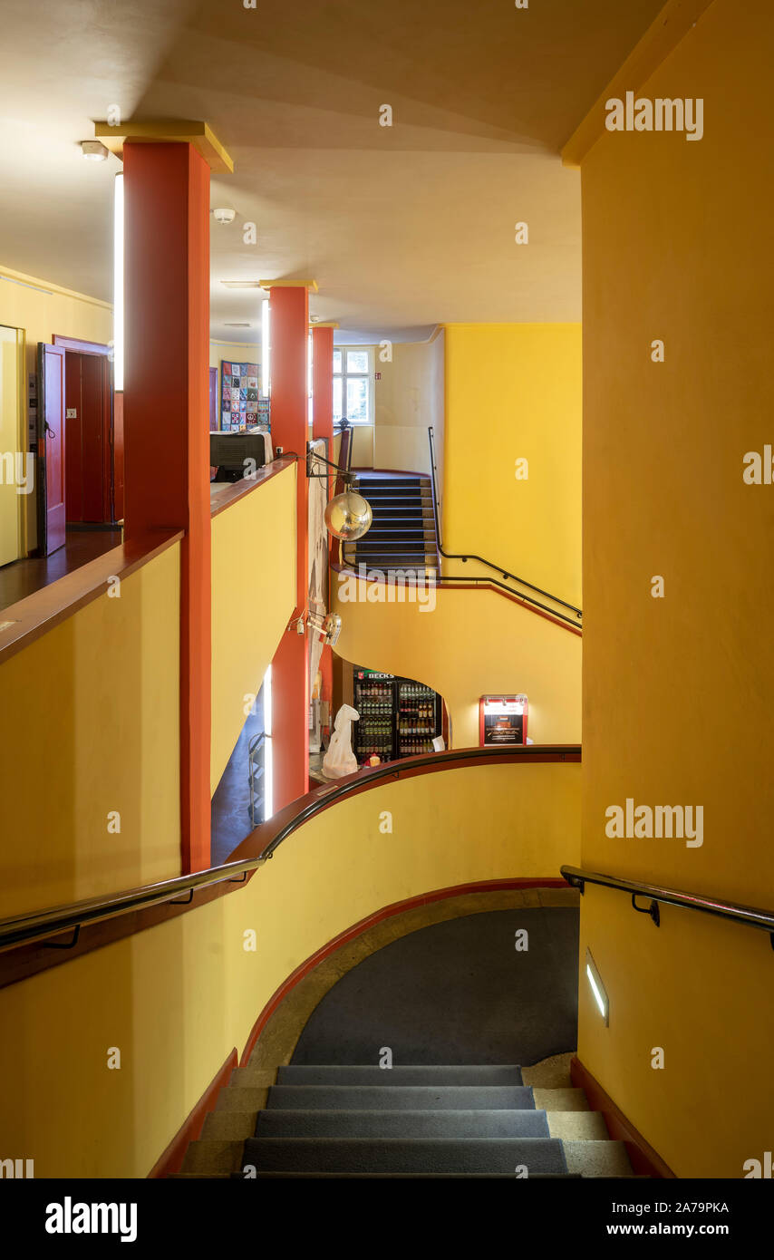 1927 1929 Von Hans Poelzig Erbaut Foyer Treppenaufgang Stock Photo Alamy