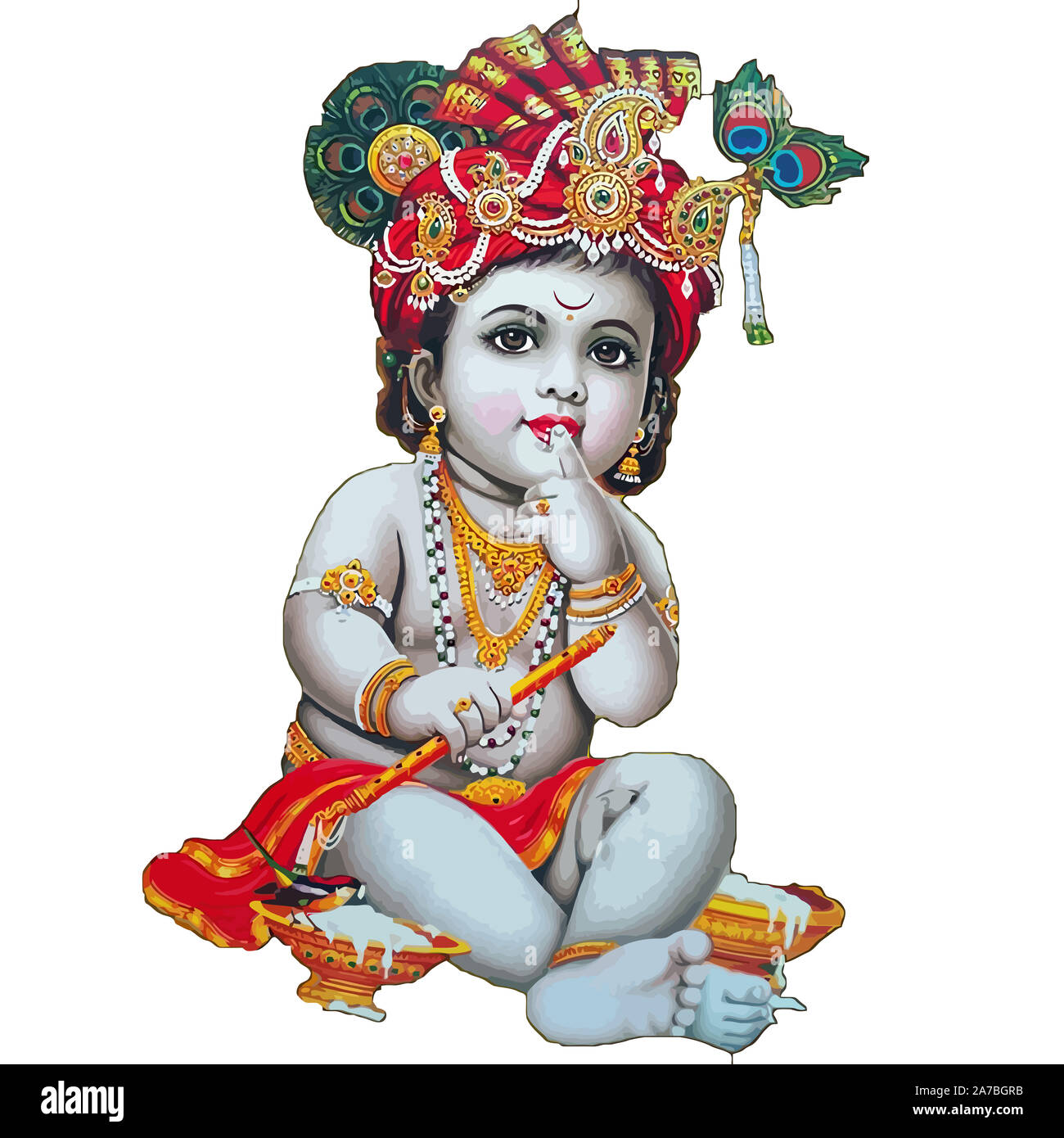 Lord Krishna High Resolution Stock Photography And Images Alamy