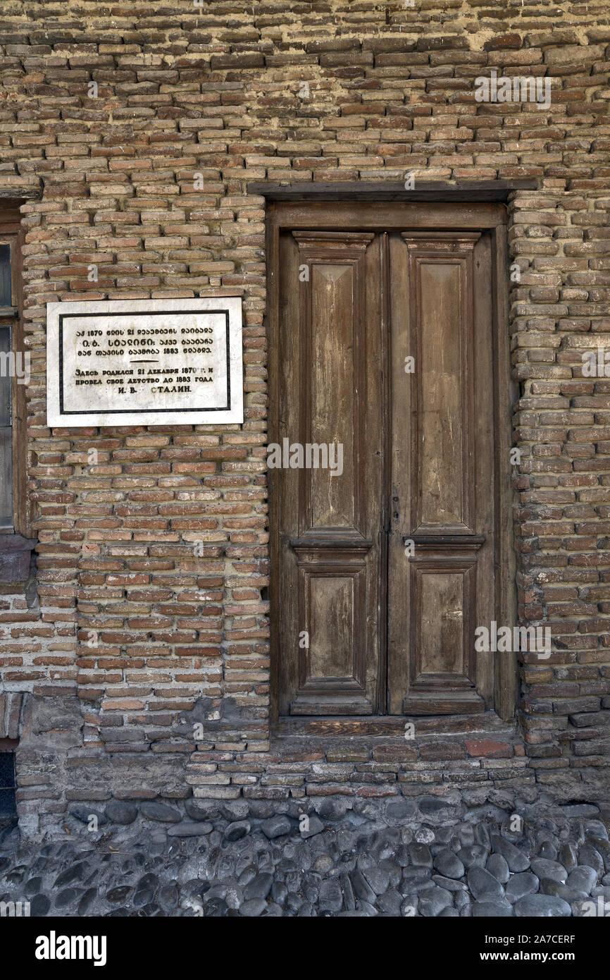 Georgia/Gori: Stalin's birthplace Stock Photo