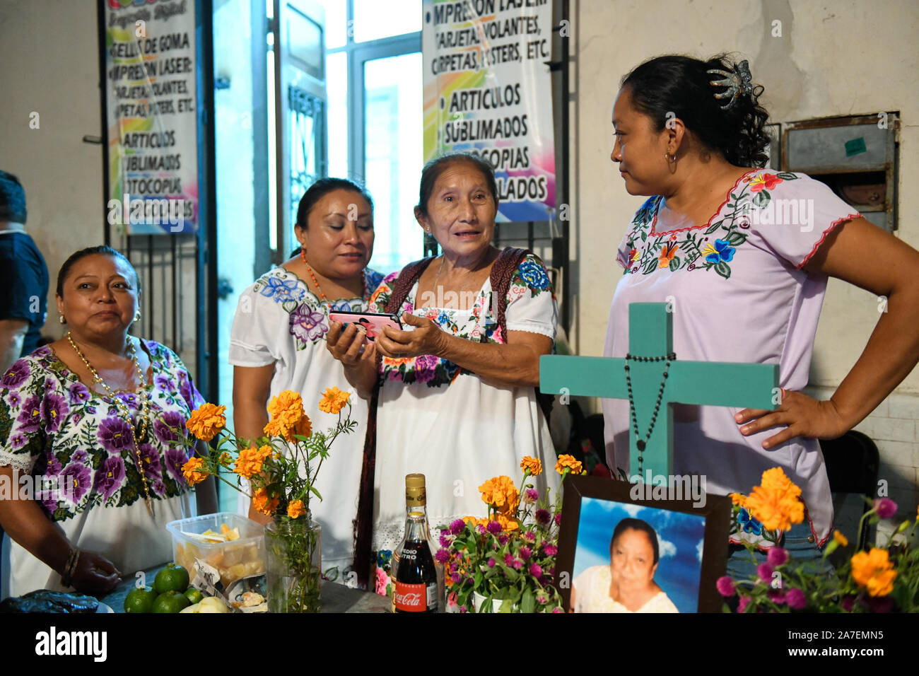 Mexican Old Women Stock Photos Mexican Old Women Stock Images