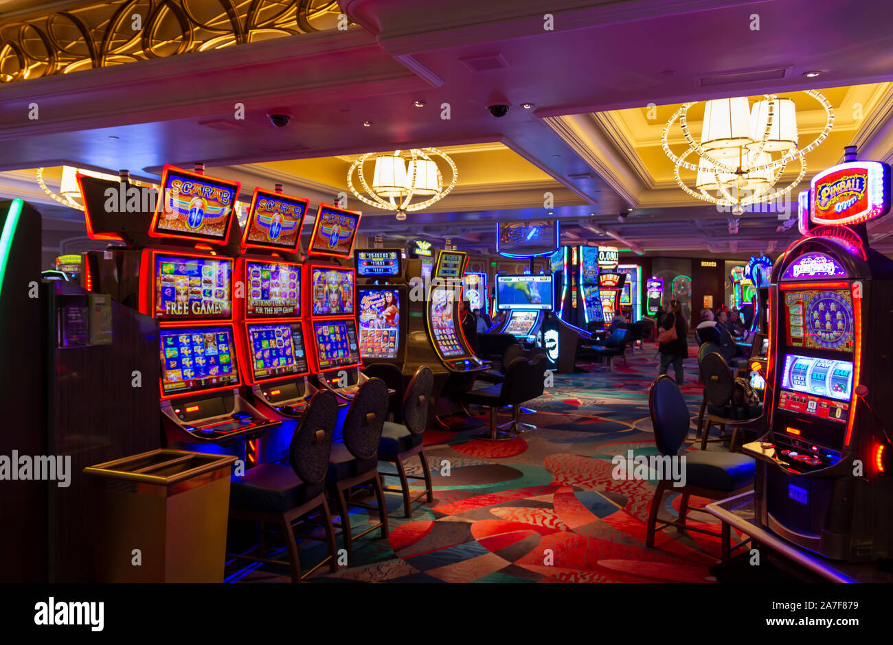 A day at the derby casino slots