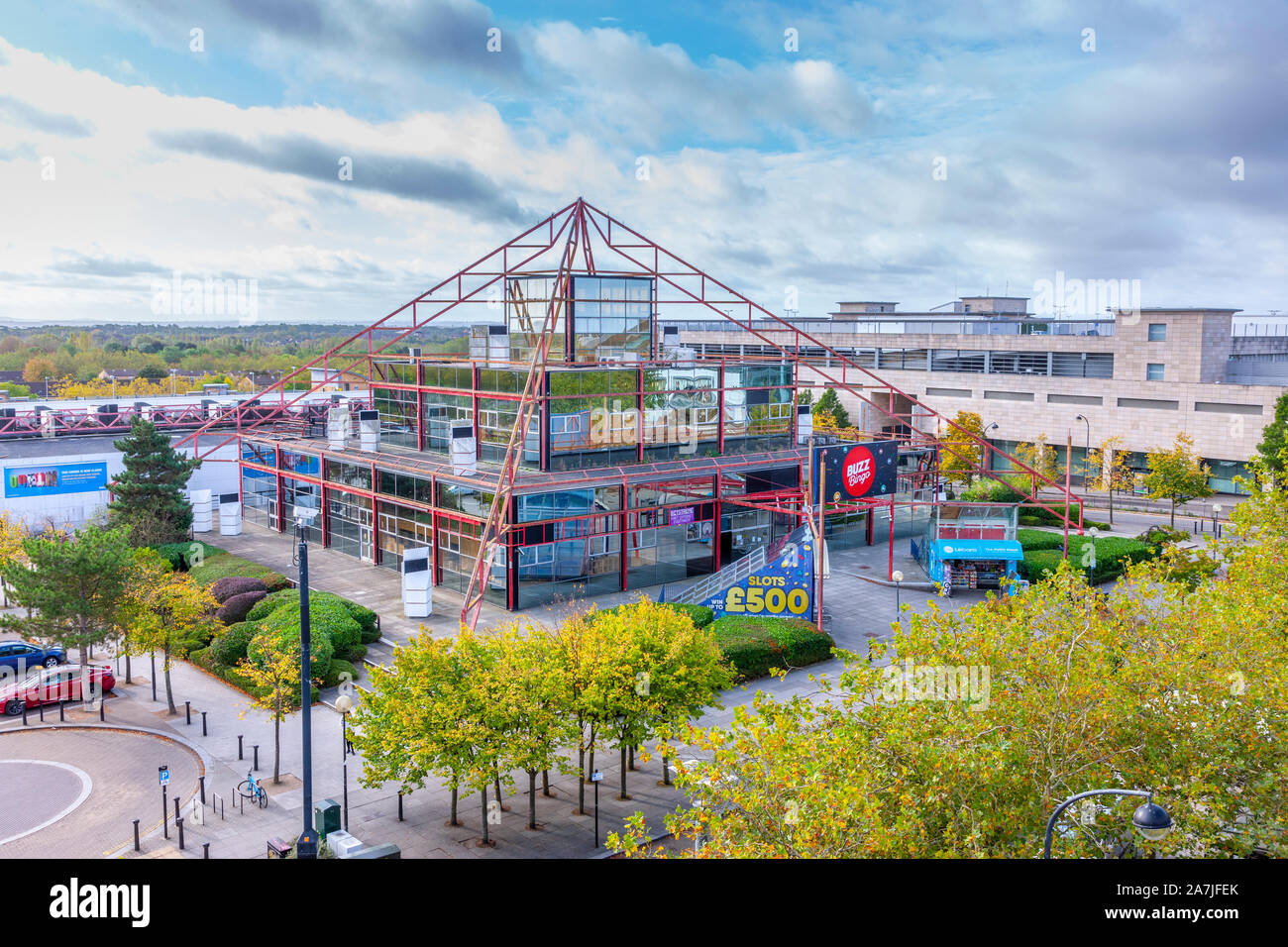 The Point is an entertainment complex in Central Milton Keynes, Buckinghamshire, England. Stock Photo