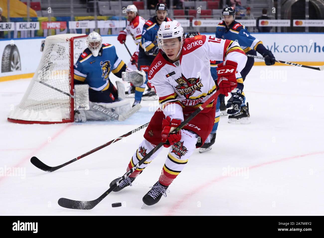 Sochi, Russia. 03rd Nov, 2019. Kontinental Hockey League: HC Sochi ...