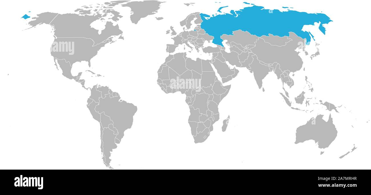 Picture of: Russia Map Outline High Resolution Stock Photography And Images Alamy