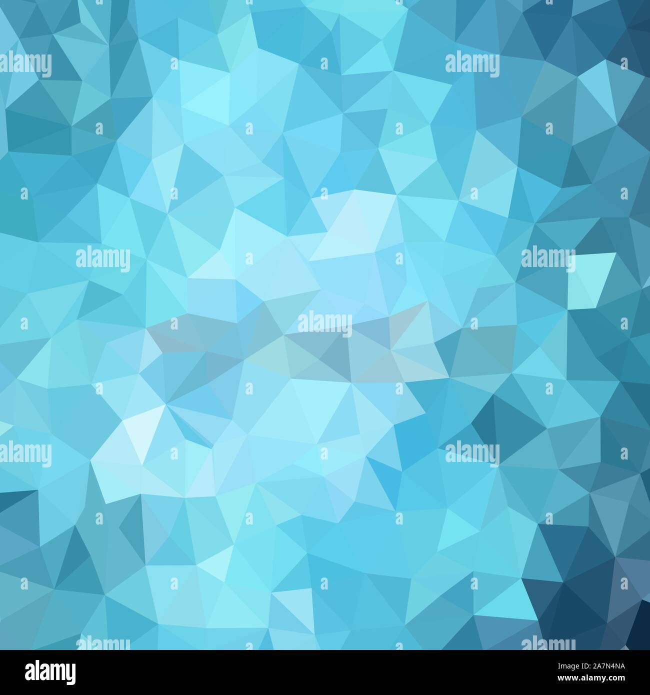 Light Blue Triangles