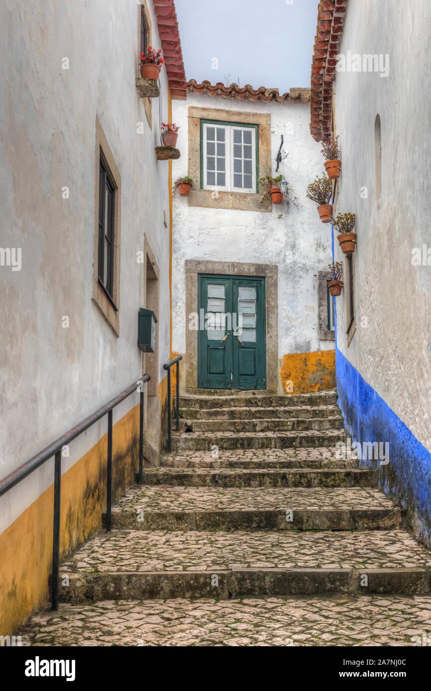 Obidos, Oeste, Leiria, Portugal, Europe Stock Photo