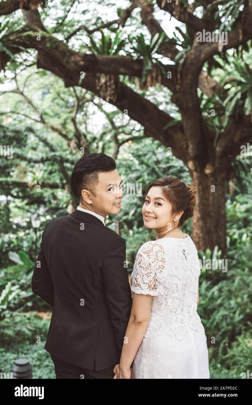 Pre Wedding Couple Asia Stock Photos Pre Wedding Couple