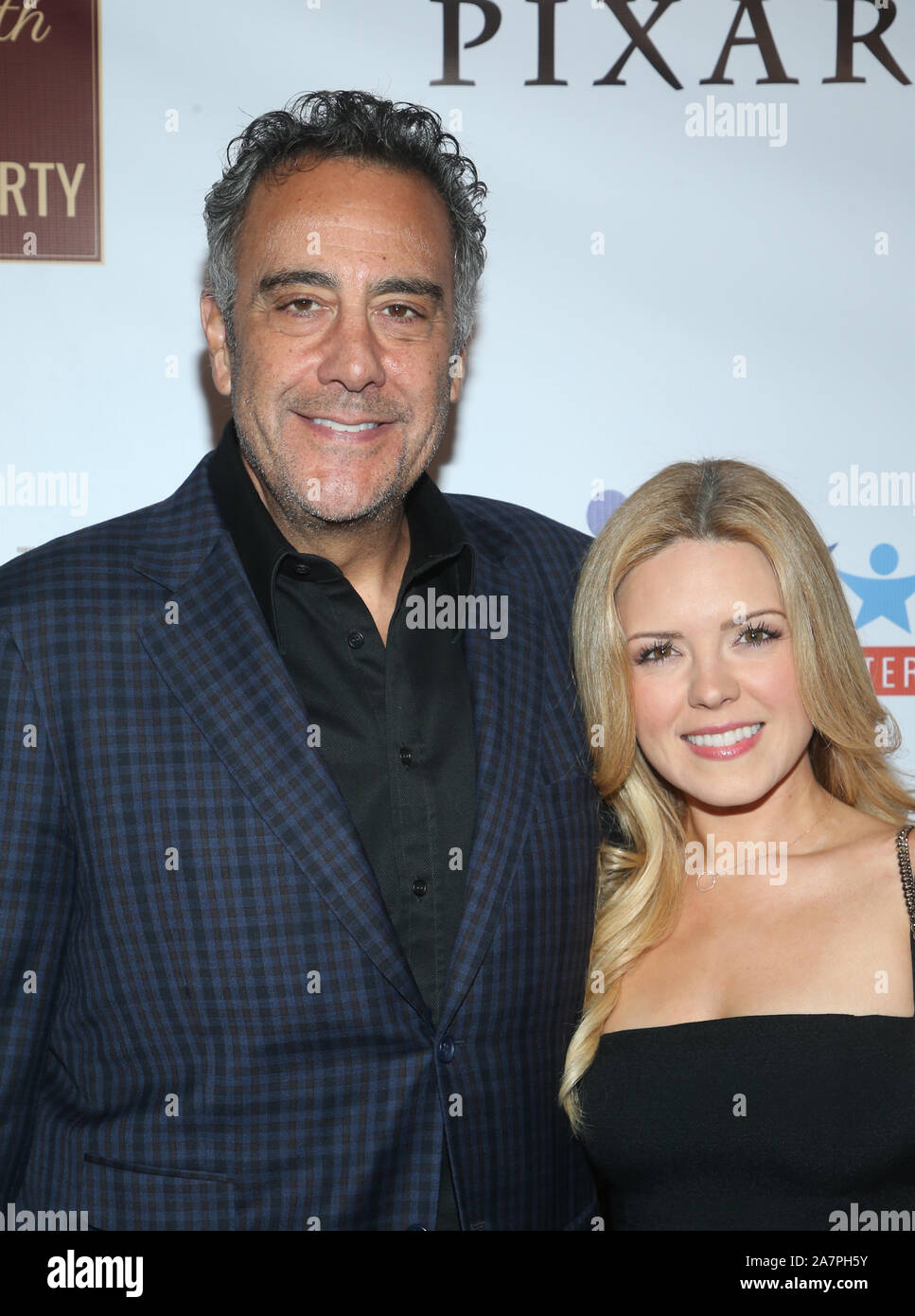 HOLLYWOOD, CA - NOVEMBER 3: Brad Garrett, Jill Diven, at ...