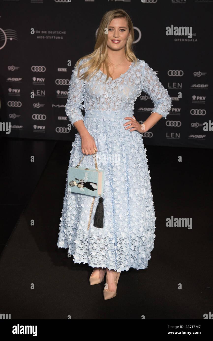 Berlin Germany 02nd Nov 2019 Actress Luna Schweiger