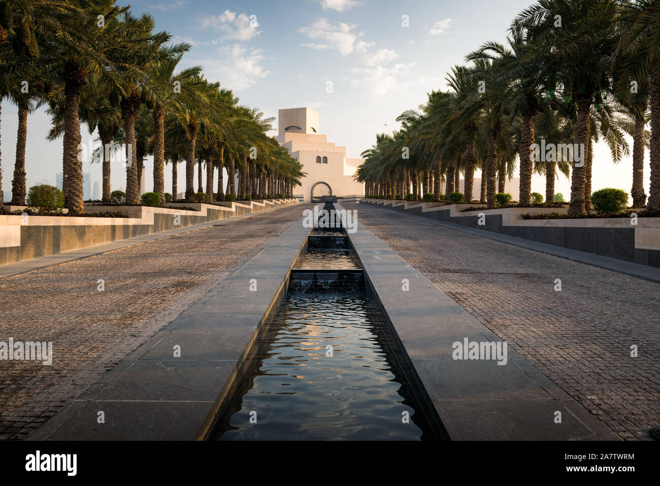 The Museum of Islamic Art in Doha, Qatar. Stock Photo