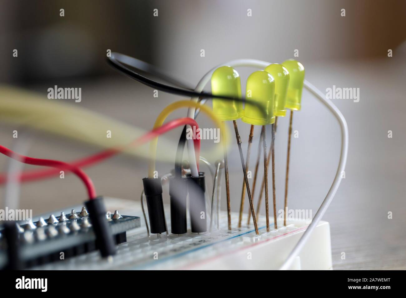 Electronics Test Connection High Resolution Stock Photography And Images Alamy