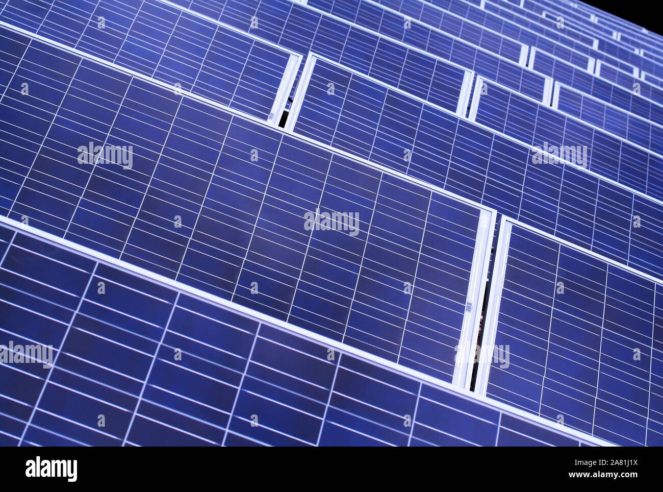 Solar Energy for everybody Stock Photo