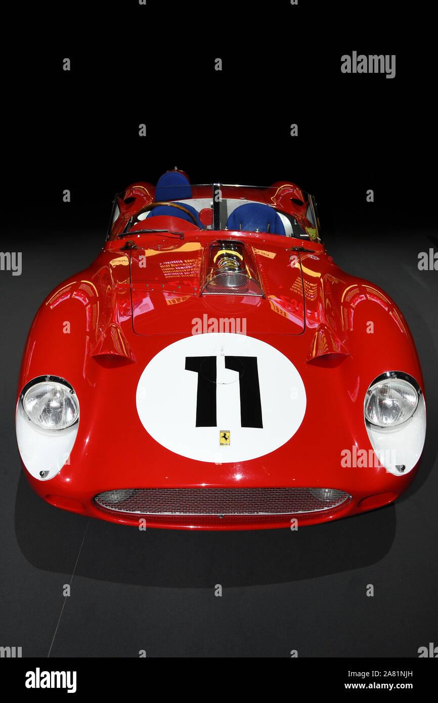 Mugello Circuit 25 October 2019 Vintage Ferrari 250 Tr Year 1960 On Display During Finali Mondiali Ferrari 2019 At Mugello Circuit In Italy Stock Photo Alamy