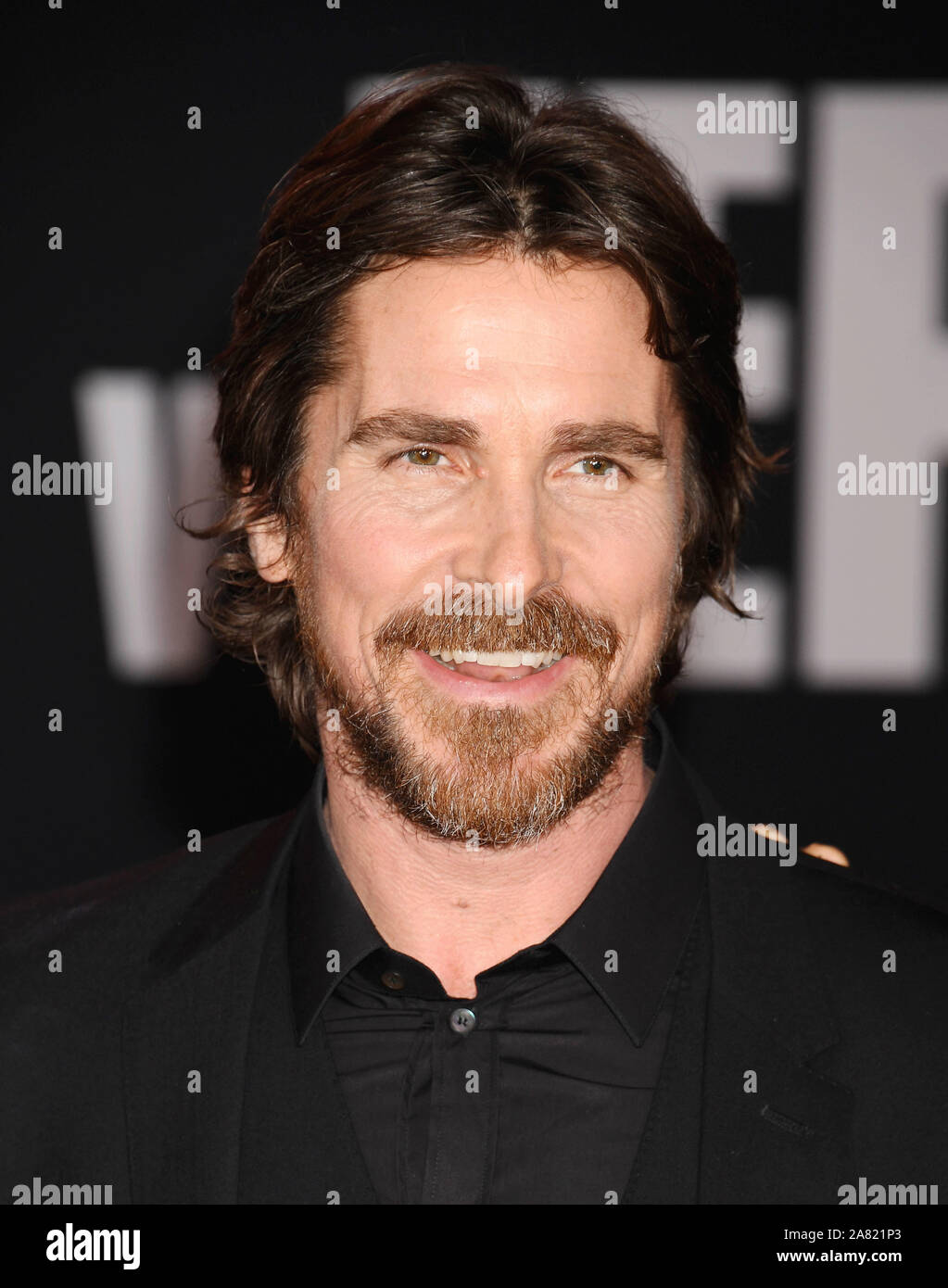 Hollywood Ca November 04 Christian Bale Attends The Premiere Of Fox S Ford V Ferrari At Tcl Chinese Theatre On November 04 2019 In Hollywood California Stock Photo Alamy