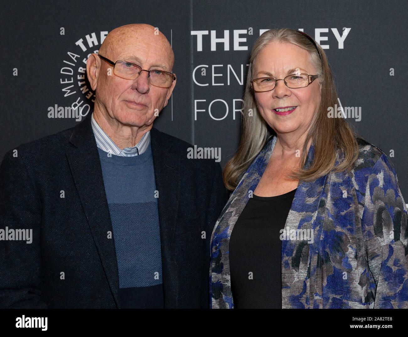 New York Ny November 5 2019 Sandy Philips And Lonnie