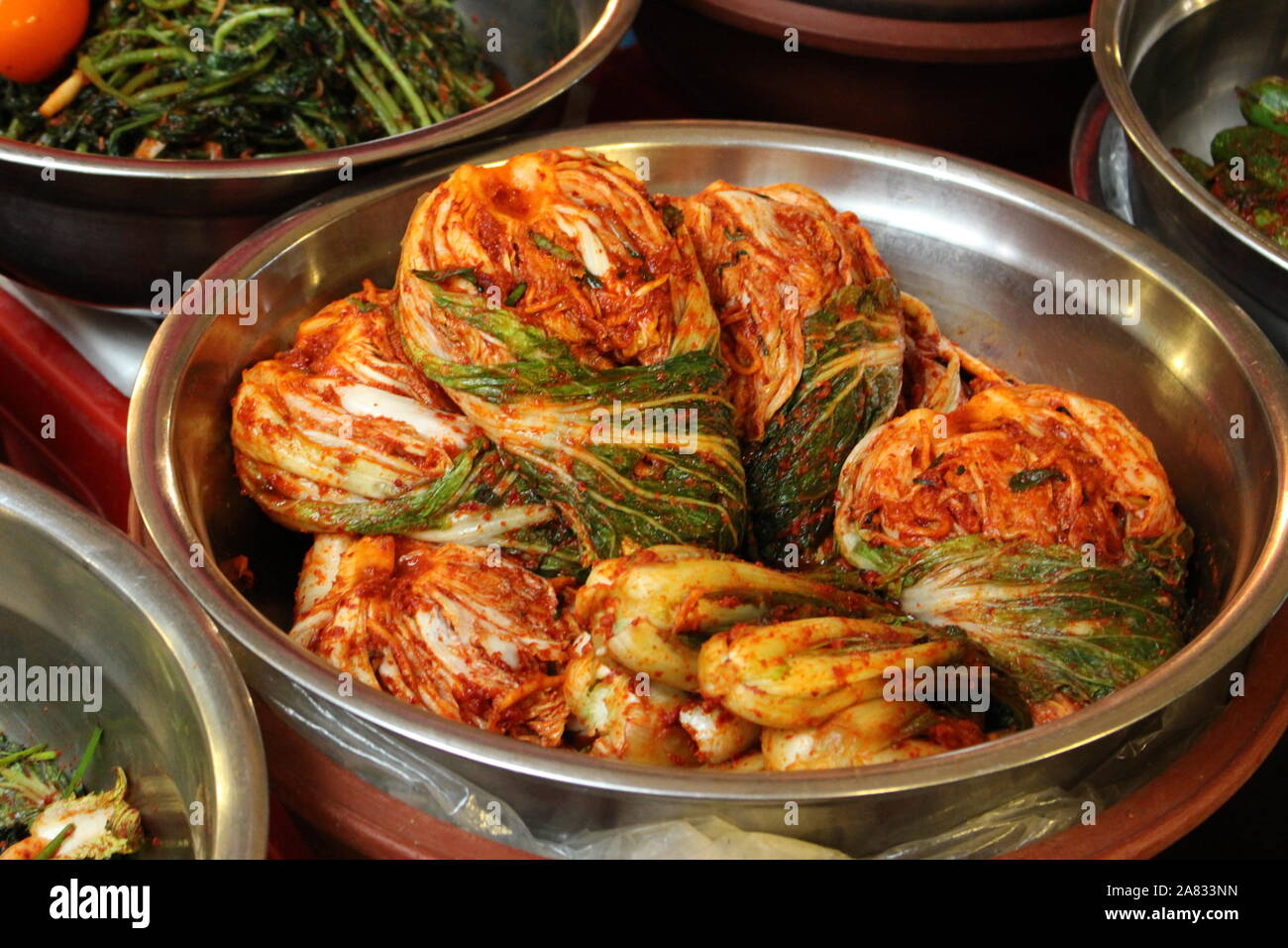Traditional Kimchi Photography Stock Photos Traditional Kimchi Photography Stock Images Alamy