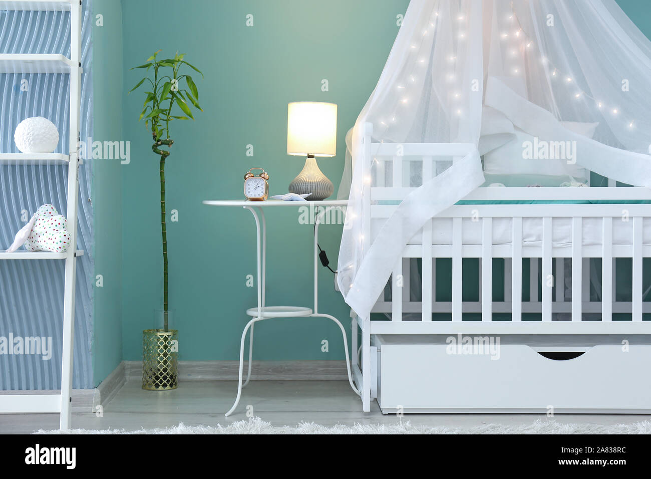 Interior of modern children\'s room Stock Photo: 331987024 ...