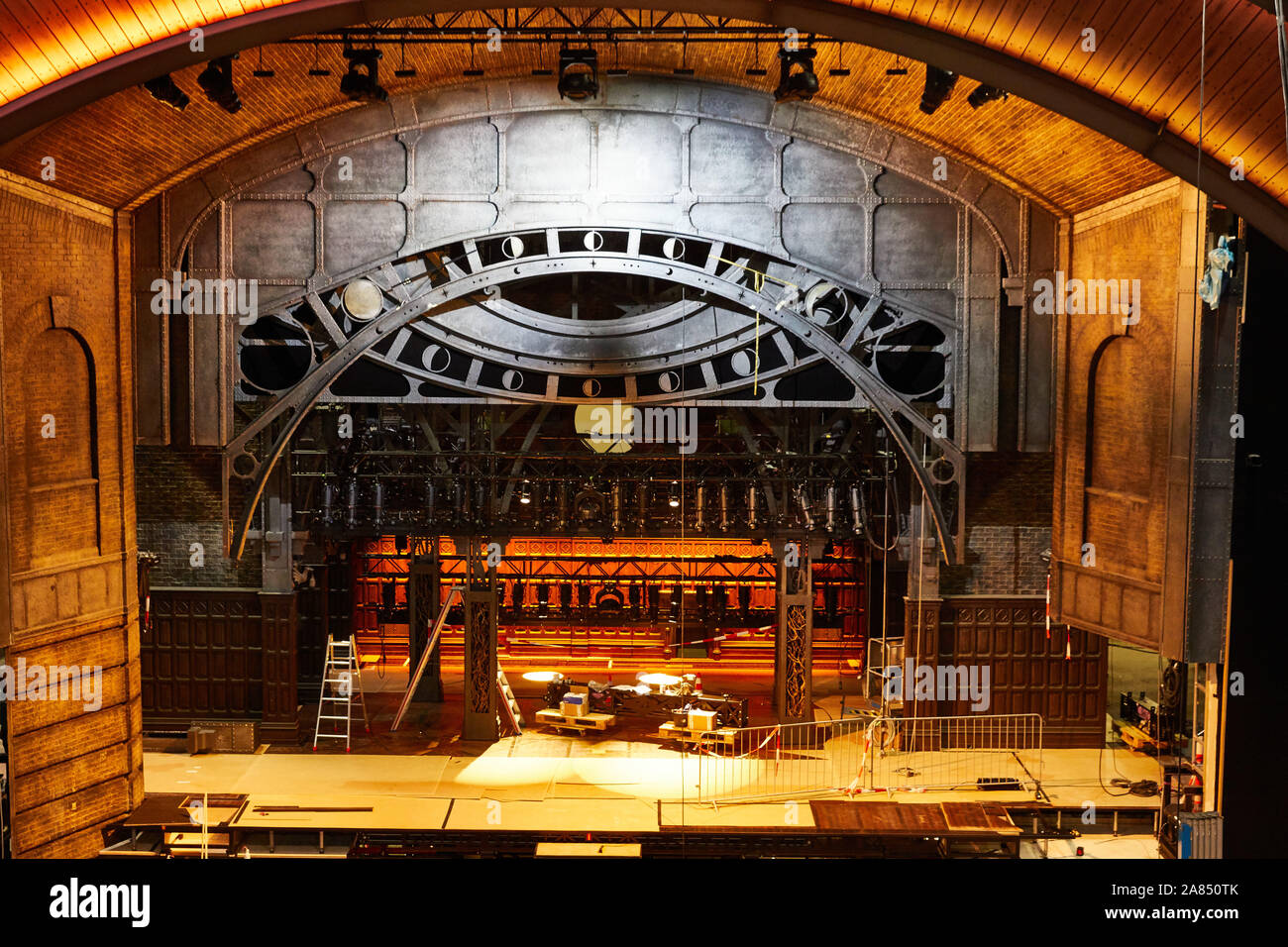 Hamburg Germany 06th Nov 2019 The Unfinished Stage Recorded During A Press Conference On The Progress