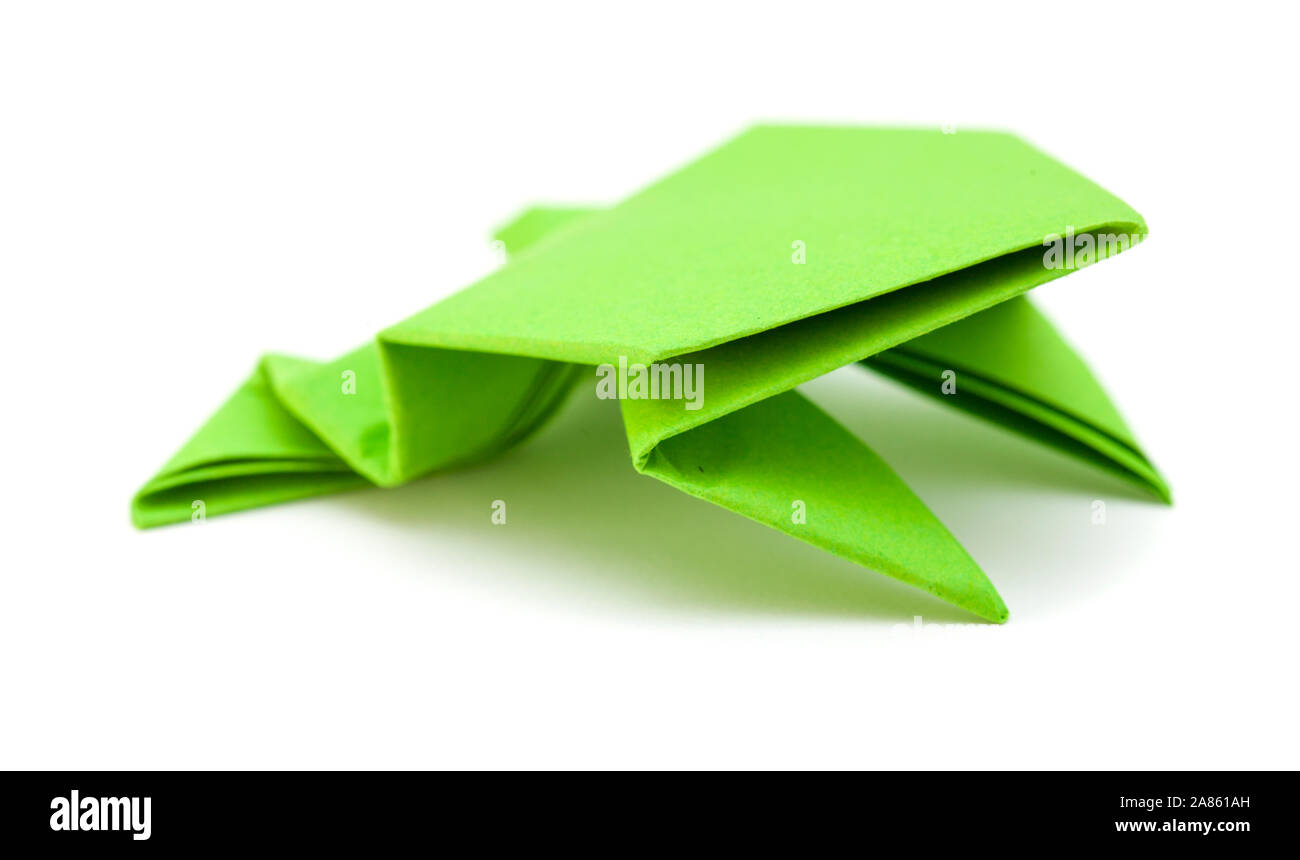 How to make origami frog   860x1300