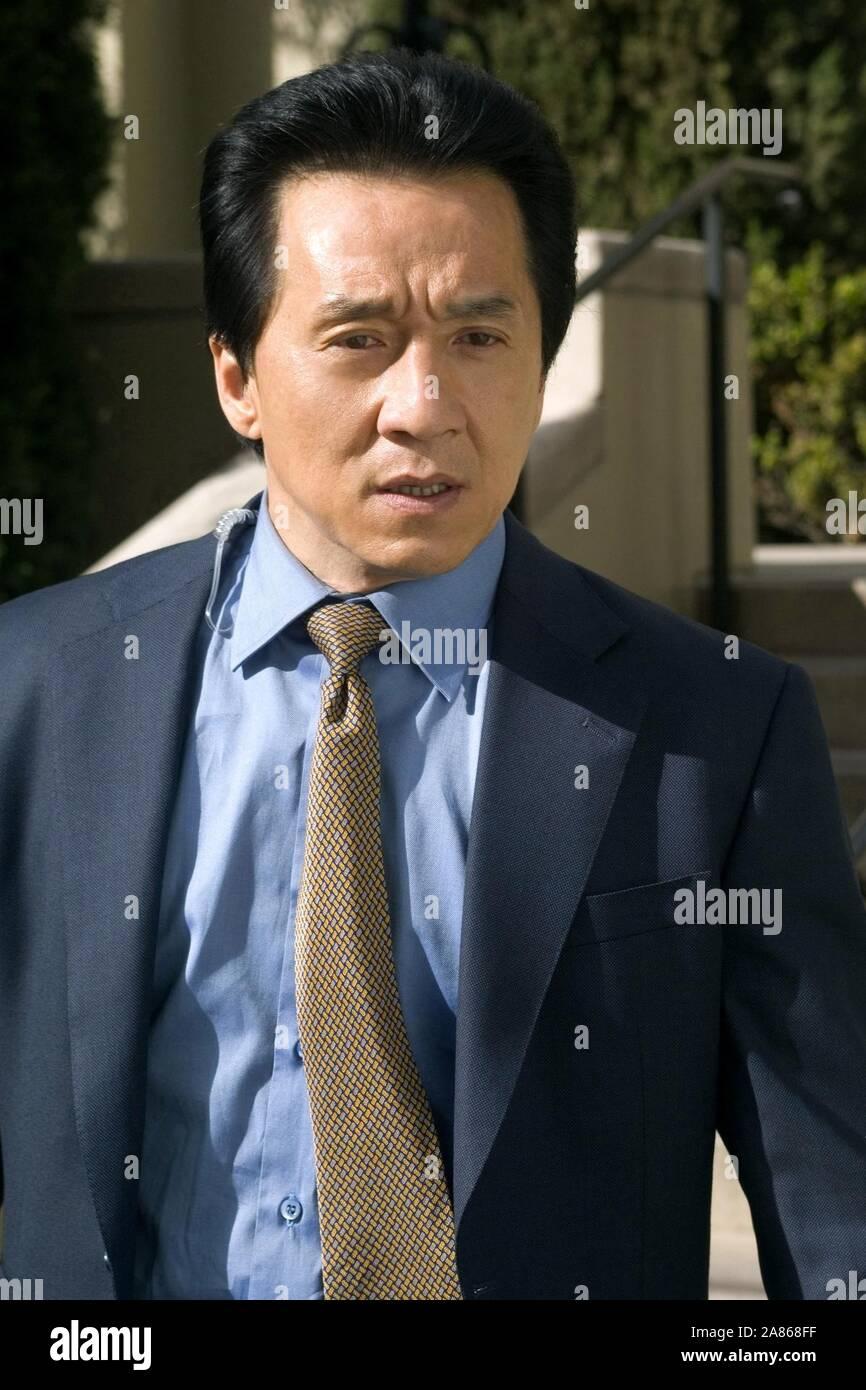 Jackie Chan Rush Hour 3 2007 Stock Photo Alamy