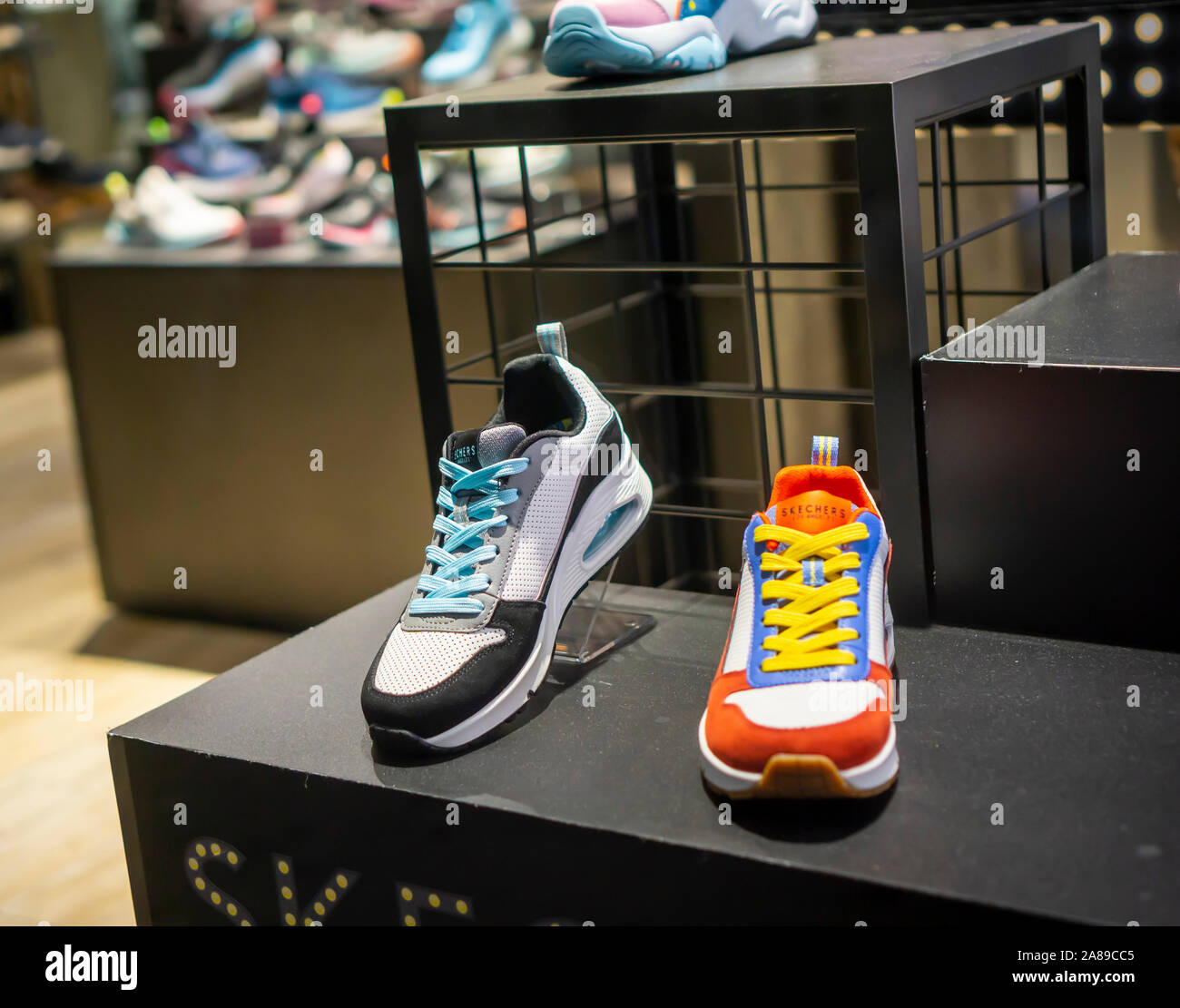 Skechers Shoes High Resolution Stock