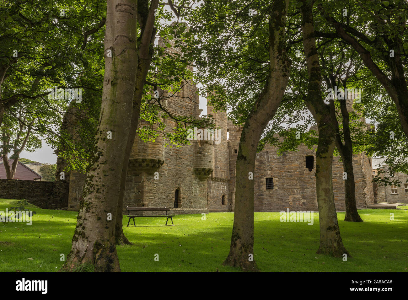 Earl's Palace in Kirkwall on Orkney, Scotland Stock Photo