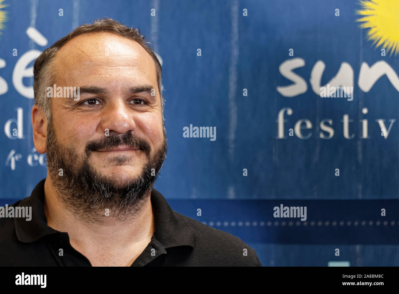 Sete France 5th July 2019 Francois Xavier Demaison Guest Of Honor Of Sunsete Festival Attends The Inauguration Of Sunsete Festival Stock Photo Alamy