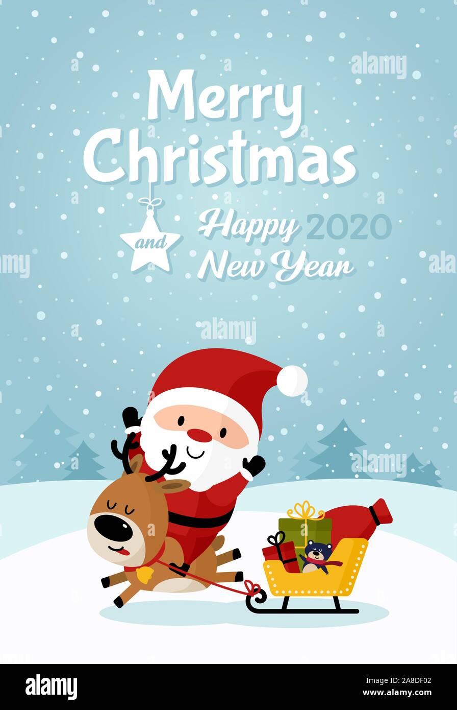 Резултат со слика за PHOTOS OF NEW YEAR CARDS  SANTA CLAUSE 2020