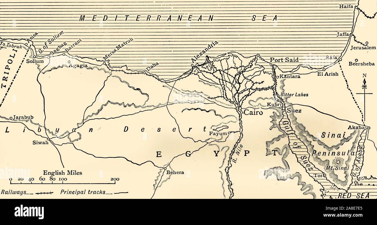 Picture of: Map Of Alexandria Egypt High Resolution Stock Photography And Images Alamy