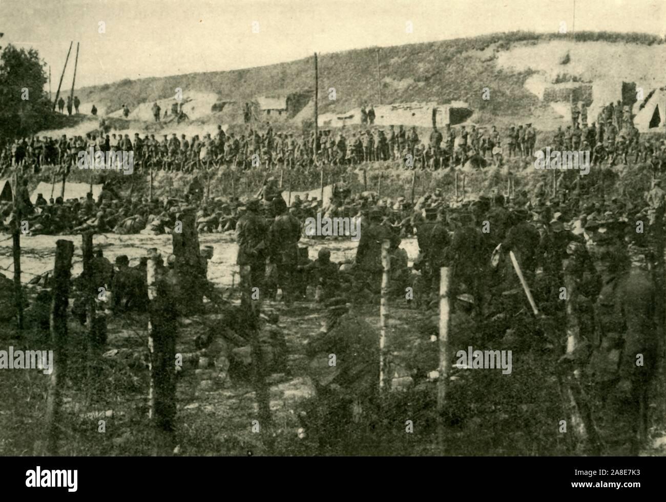 WWII B/&W Photo US Prisoners of War at Battle of the Bulge  WW2 World War// 1165