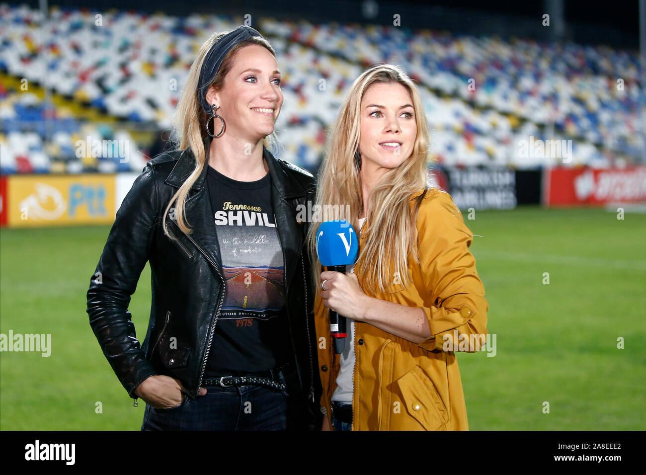 Izmir Turkey 08th Nov 2019 Izmir 08 11 2019 Women S Euro Qualifiers 2021 Turkey Netherlands Tv